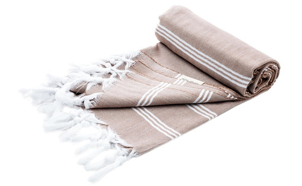 handmade hamam towel raw organic cotton