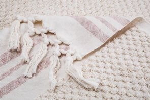 Arta Ahura Deep looped towel detail