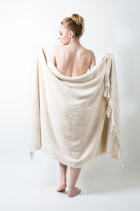 Plain woven -- Deep-Looped Bath Towel